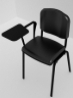 Kolçaklı siyah seminer form sandalyesi Kiralama